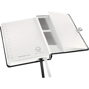 Leitz Notizbuch A6 kariert, Hardcover, schwarz LEITZ 44910094