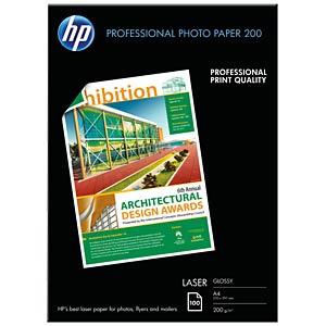 DIN A4, Fotopapier, 200g/m², 100 Blatt HEWLETT PACKARD CG966A