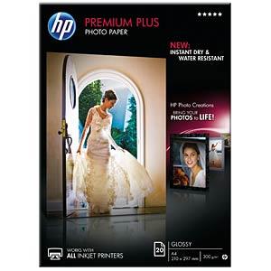 DIN A4, Fotopapier, 300g/m², 20 Blatt HEWLETT PACKARD CR672A