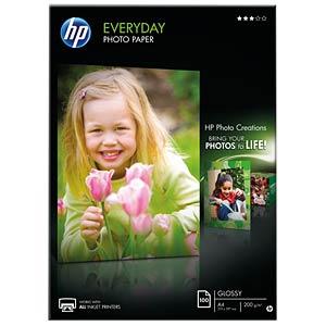 DIN A4, Fotopapier, 200g/m², 100 Blatt HEWLETT PACKARD Q2510A
