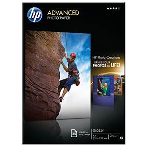DIN A4, Fotopapier, 250g/m², 25 Blatt HEWLETT PACKARD Q5456A