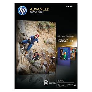 DIN A4, Fotopapier, 250g/m², 50 Blatt HEWLETT PACKARD Q8698A