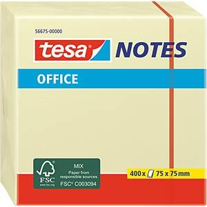 tesa® Office Notes Würfel, 75 x 75mm, 400 Blatt TESA 56675-00000-05