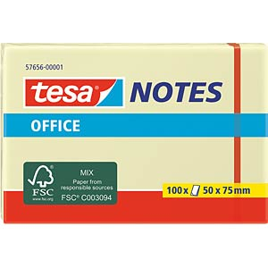 tesa® Office Notes, 50 x 75mm, 100 Blatt TESA 57656-00001-05