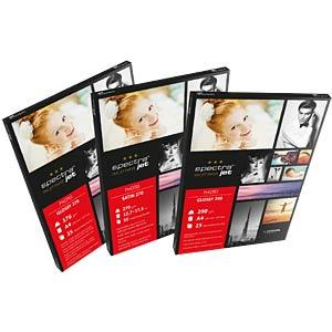 DIN A4, Fotopapier, 280 g/m², 25 Blatt, Seidenraster TETENAL 130232