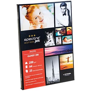 DIN A4, Inkjet, Fotopapier, 198 g/m², 25 Blatt TETENAL 130200
