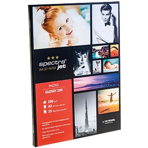 DIN A3, Inkjet, Fotopapier, 198 g/m², 25 Blatt TETENAL 130201