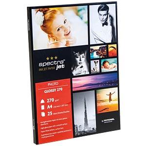 DIN A4, Inkjet, Fotopapier, 274 g/m², 25 Blatt TETENAL 130212