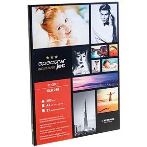 DIN A3, Fotopapier, 280 g/m², 25 Blatt, Seidenraster TETENAL 130233