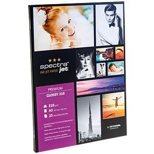 DIN A3, Inkjet, Fotopapier, 303 g/m², 25 Blatt TETENAL 130302