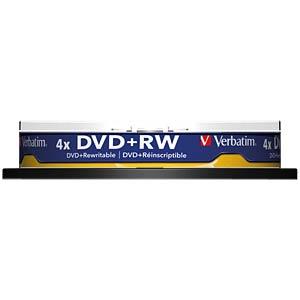 VERBATIM 43488 - Verbatim DVD+RW 4,7GB