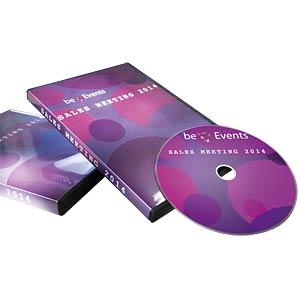 25 DVD inserts AVERY ZWECKFORM L7436