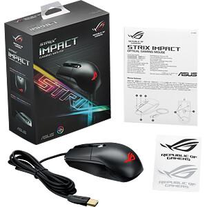 Maus (Mouse), Kabel, Gaming, schwarz ASUS 90MP00P0-B0UA00
