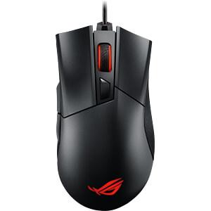 Maus (Mouse), Kabel, Gaming, schwarz ASUS 90MP00R0-B0UA00