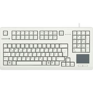 Tastatur - USB - grau - Touchpad - US-Layout CHERRY G80-11900LUMEU-0