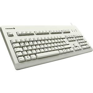 Keyboard - USB - gray - US Layout CHERRY G80-3000LPCEU-0