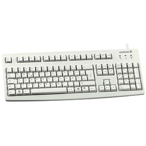 Keyboard - USB - gray - US Layout CHERRY G83-6104LUNEU-0