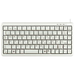 Keyboard - USB - grey - US Layout CHERRY G84-4100LCMEU-0