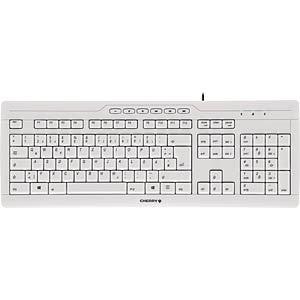 Tastatur - USB - grau - US-Layout CHERRY G85-23200EU-0