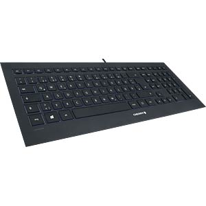 Keyboard - USB - black - US Layout CHERRY JK-0340EU