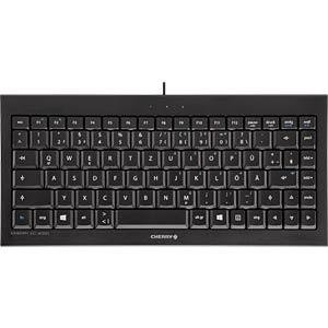 Keyboard - USB - black - backlight - German CHERRY JK-0720DE/00