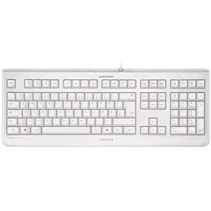 Keyboard — USB — light grey — disinfectable (IP68) CHERRY JK-1068DE-0