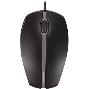 Mouse, wired, GENTIX Silent CHERRY JM-0310-2