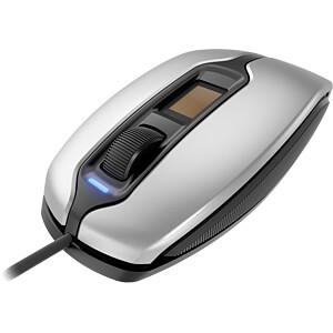 Maus (Mouse), Kabel, USB, silber-schwarz CHERRY JM-A4900