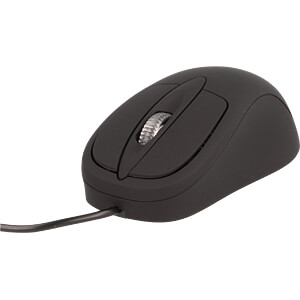 Maus (Mouse), Kabel, USB, beheizt COMFORTABLE COMPUTING HM-07-01.BL