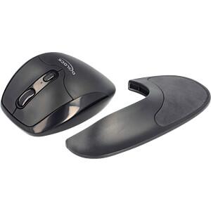 Maus (Mouse), Funk, schwarz DELOCK 12552
