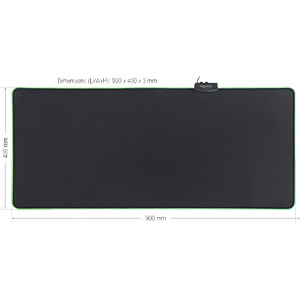 Mouse Pad, with RGB Illumination DELOCK 12556