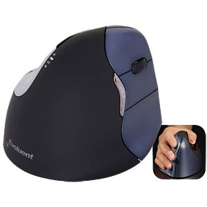 Wireless mouse - laser - vertical for right-handed users EVOLUENT VM4RW