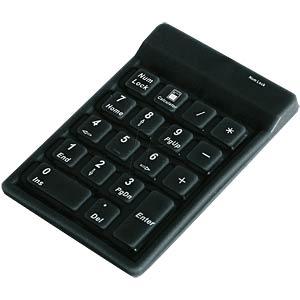 Nummernblock, USB, schwarz KEYSONIC ACK-118 BK