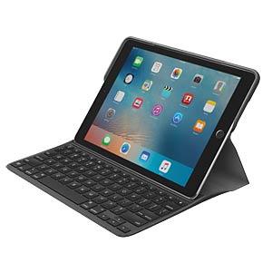 Tastaturhülle, iPad Pro 9,7, schwarz LOGITECH 920-008132