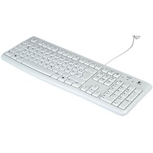 Keyboard, USB, white LOGITECH 920-003626