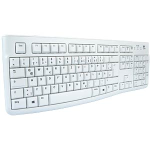 Keyboard, USB, light grey LOGITECH 920-003626