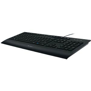 Keyboard - USB - black LOGITECH 920-008669