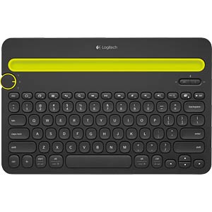 Bluetooth Multi-Device Tastatur - Win/Mac/Android LOGITECH 920-006350