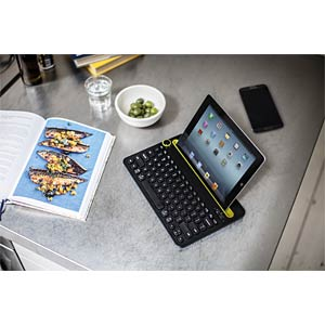 Bluetooth multi-device keyboard — Win/Mac/Android LOGITECH 920-006350