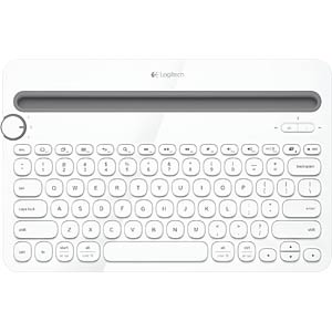 Bluetooth multi-device keyboard — Win/Mac/Android LOGITECH 920-006351