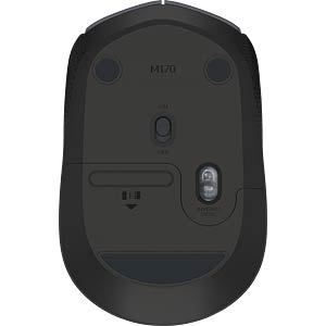 Wireless Mouse, black LOGITECH 910-004798