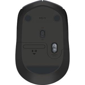 Maus (Mouse), Funk, schwarz LOGITECH 910-004798
