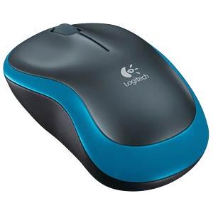 Maus (Mouse), Funk, blau LOGITECH 910-002239
