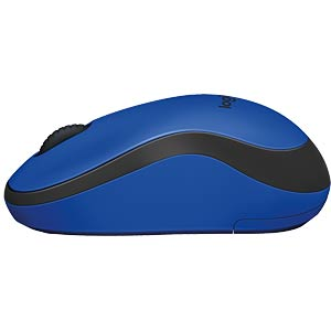 Wireless mouse - blue LOGITECH 910-004879