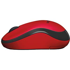 Wireless mouse - red LOGITECH 910-004880
