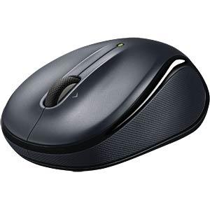Wireless mouse — dark silver LOGITECH 910-002143/910-002821