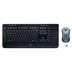 Wireless desktop — laser mouse — 128-bit AES LOGITECH 920-002554/920-004870