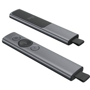 Presenter, Bluetooth, Spotlight Presentation Remote Plus LOGITECH 910-005166