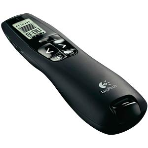 Wireless presenter with laser pointer LOGITECH 910-003507