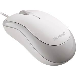 Maus (Mouse), Kabel, weiß MICROSOFT 4YH-00008